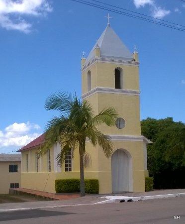 Chuvisca, RS: Igreja Católica de Chuvisca RS