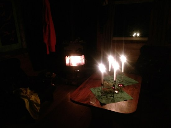 White Trail Adventures: Not electricity in the wilderness camp