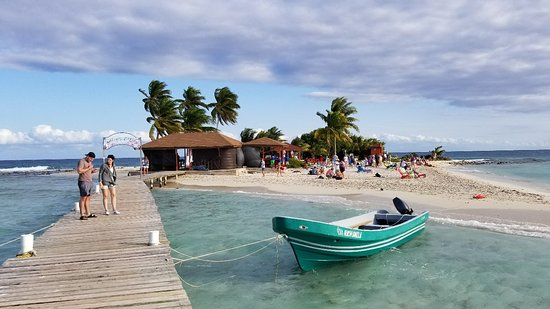 Belize Cruise Excursions Goff S Caye Beach And