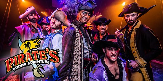 Buena Park, CA: Join us for a swashbuckling adventure at Pirate's Dinner Adventure!