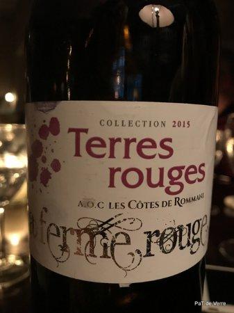 Grand Cafe De La Poste : Un bon vin marocain