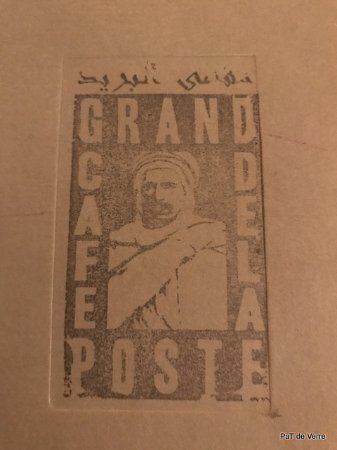 Grand Cafe De La Poste : la carte
