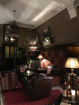Grand Cafe De La Poste : Un des agréables coins des salons du Grand Café