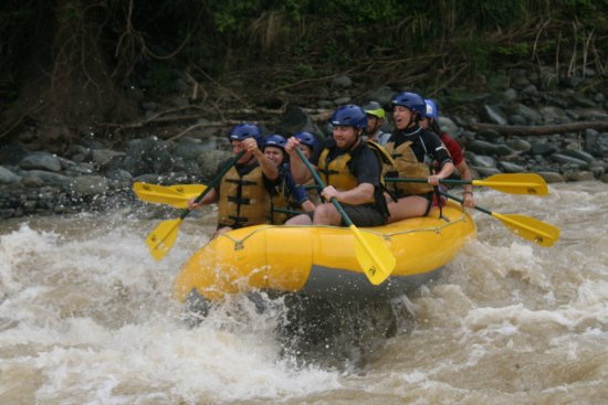 Quepoa Expeditions: The whitewater