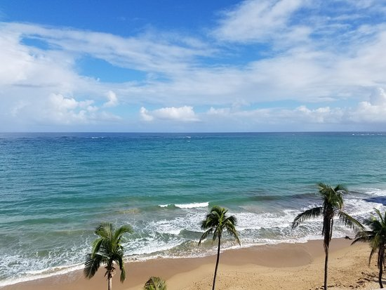 San Juan Marriott Resort & Stellaris Casino: View from balcony