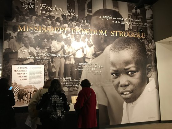 Jackson, MS: Entry way into the Mississippi Civil Rights Museum