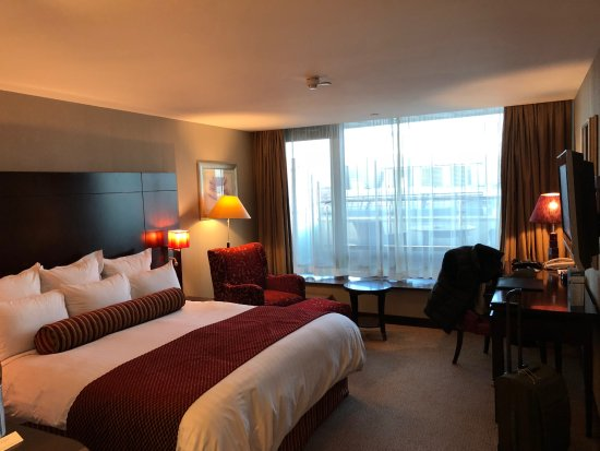 The Savoy Hotel: the room overall looks fine. but not a 5-stars