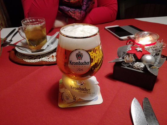 Nordholz, เยอรมนี: Good beer in restaurant