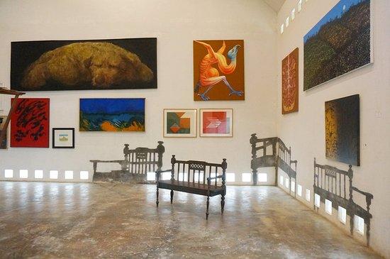 Провинция Нан, Таиланд: ด้านในหอศิลป์ริมน่าน