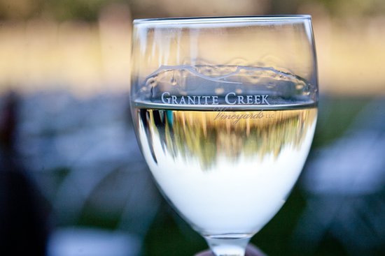 Chino Valley, AZ: A glass of Sauvignon Blanc