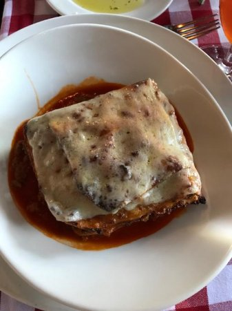 Stanton, CA: meat lasagna