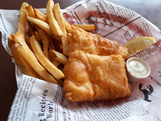 Tor's Fish & Chips: Halibut & Chips