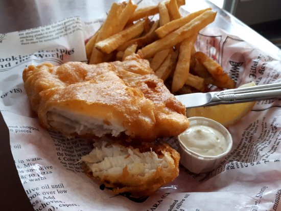 Tor's Fish & Chips: Halibut Meat