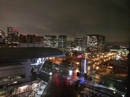 The Westin Boston Waterfront: View from our room, 12th floor