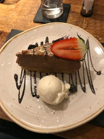 Wentbridge, UK: Homecake Cheesecake - Special