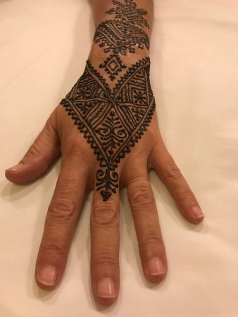 Henna Tattoo Risultato Finale Picture Of Marrakech Henna Art Cafe
