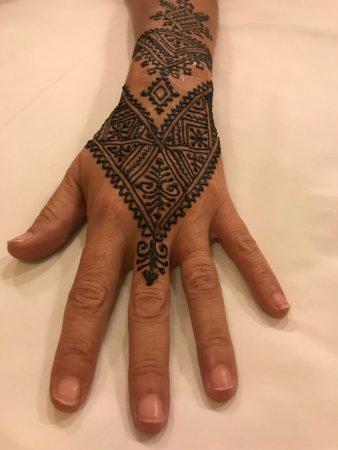 Henna Tattoo Risultato Finale Picture Of Marrakech Henna Art Cafe
