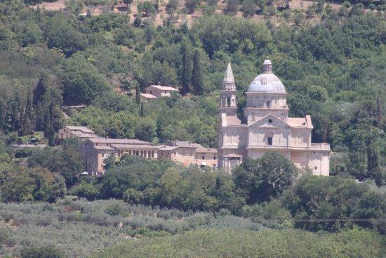 Tempio di San Biagio: tolle Lage