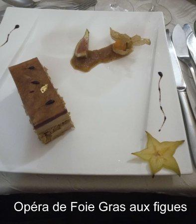 Beaumont Pied De Boeuf, France: Opéra de Foie gras aux figues