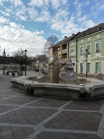 Esztergom, Hungary: Szechenyi Square