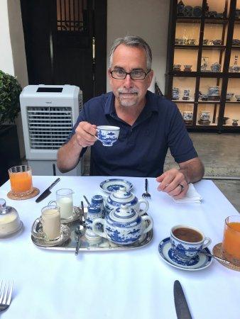 Rachamankha : breakfast!