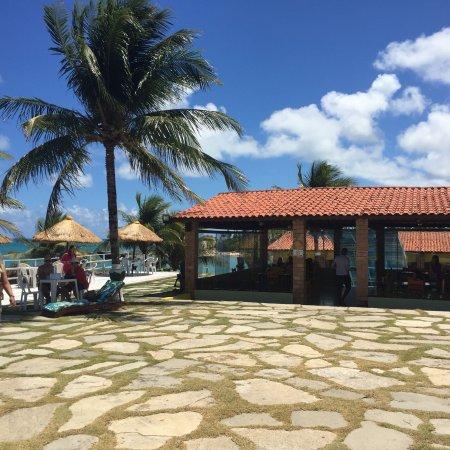 Jacuma, PB: Restaurante e piscina
