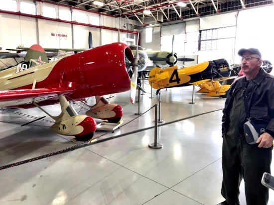 Polk City, FL: Eddie and the Gee Bee Racers