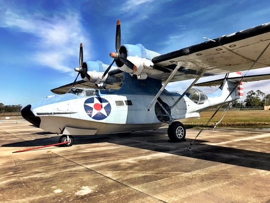 Polk City, Флорида: 1943 Consolidated PBY-5A Catalina