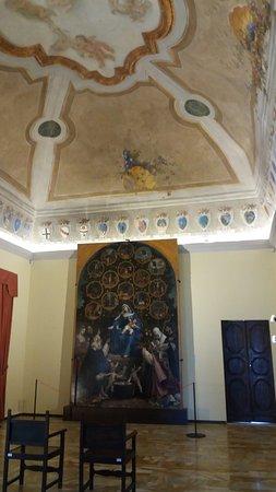 Cingoli, Italie : Lorenzo Lotto a palazzo