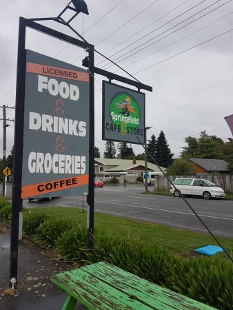 Springfield, New Zealand: Beware of this cafe