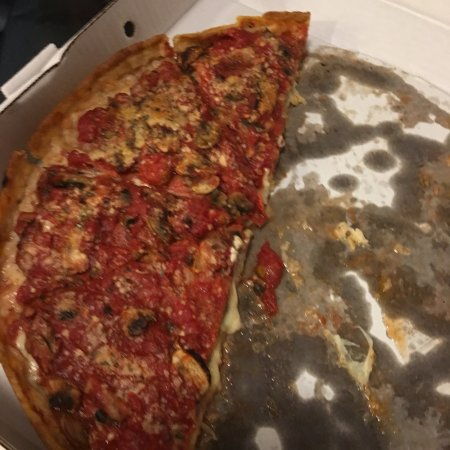 Palos Heights, IL: Deep Dish Sausage, Pepperoni and mushroom.  So good!
