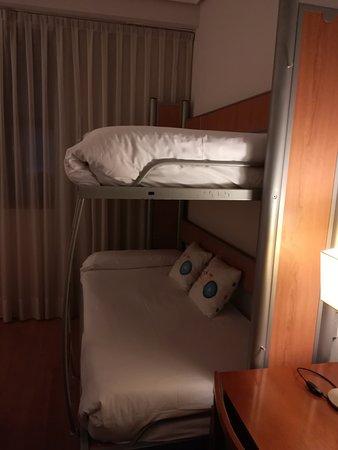Tryp Madrid Atocha Hotel: Literas