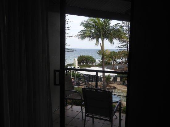 Coolum Beach, Australië: first view from room