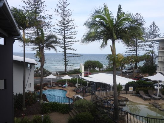 Coolum Beach, Australië: view from our balcony, just magic..
