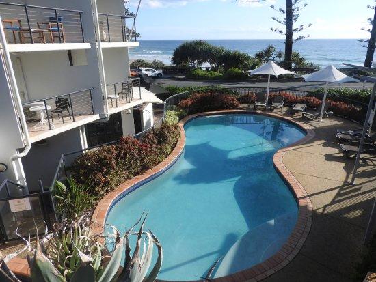 Coolum Beach, Australië: beautiful pool area
