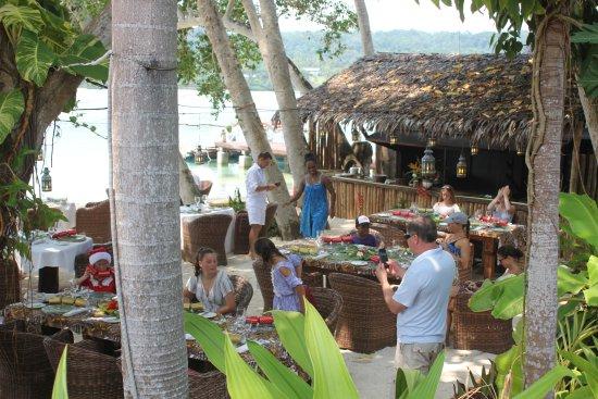 Ratua Island Resort & Spa : Christmas Day Buffet Lunch