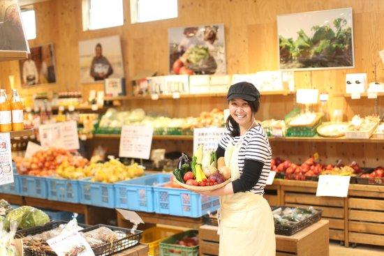 Minamiawaji, Japan: 農家さんが直接持ってくる野菜たち