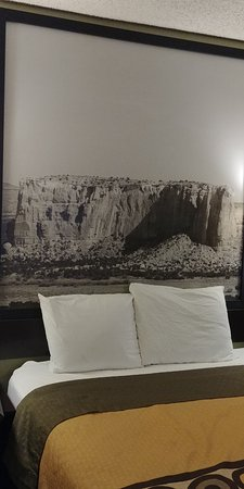 Belen, Nuevo Mexico: only nice thing, the picture in the room