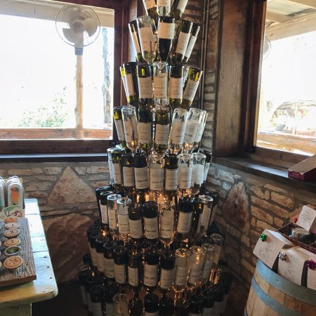 Salt lick wine cellar