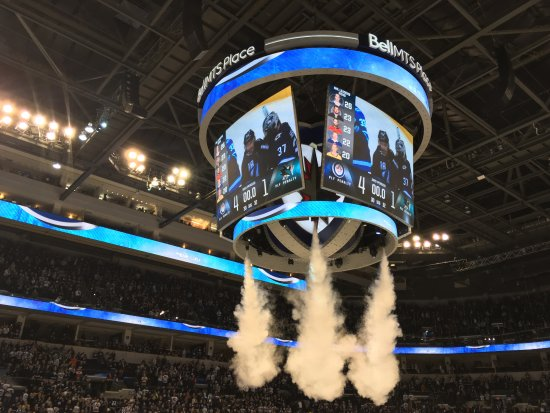 End of the Game - Picture of Bell MTS Place 1dbc99994
