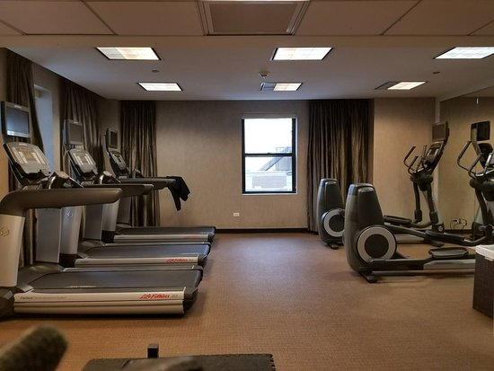 Fitness room picture of hotel felix chicago tripadvisor