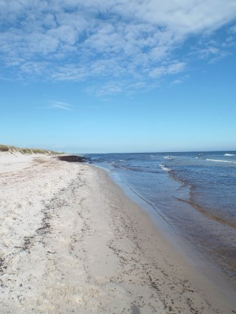 Loderup, Sverige: From sand to sea to sky