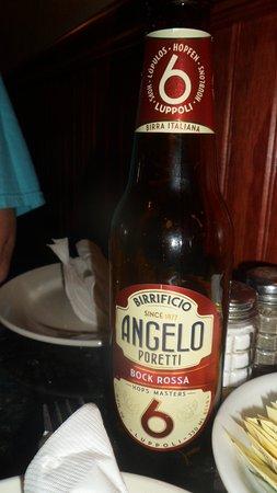 Francesco's New York PIzzeria & Restaurant: Poretti Bock Rossa 6 beer