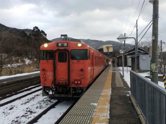 Fukaura-machi, Japonia: 五能線普通列車