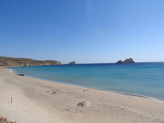 Xerokambos (Exotic Beach): Пляж Ксерокамбос