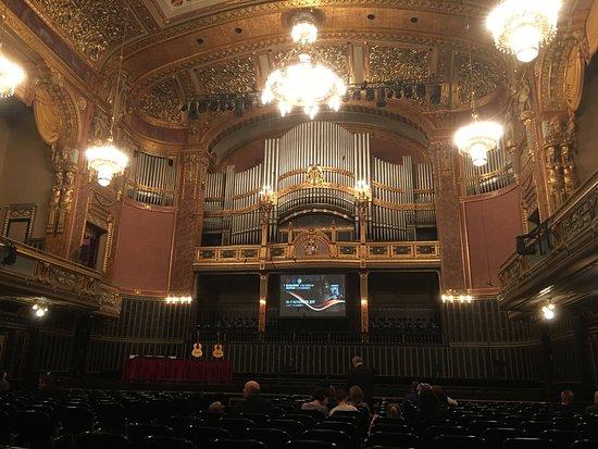 Liszt Ferenc Square: Innenansicht der Konzerthalle