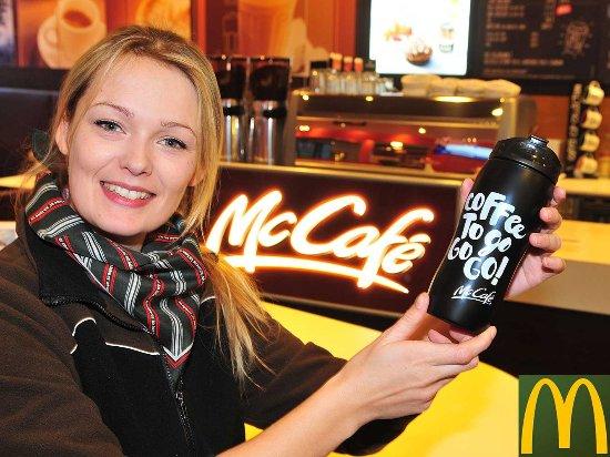 Willkommen im McCafé bei McDonald's in Diemelstadt!