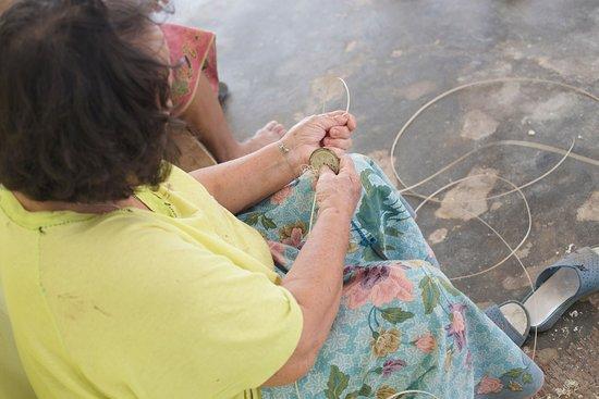 Sarawak, Malásia: Basket weaving P.C. Scott Inskeep