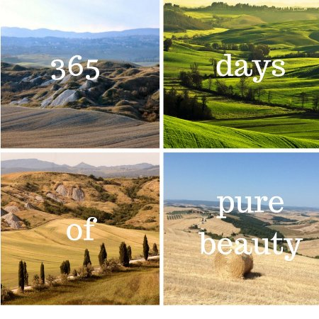 Serre di Rapolano, Italien: The Crete senesi area, Southern of Siena, thermal baths and amazing landscapes,