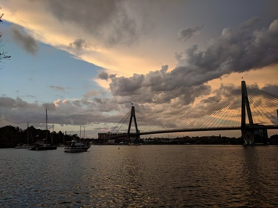 The Boathouse on Blackwattle Bay: View from the restaurant